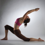 crescent pose