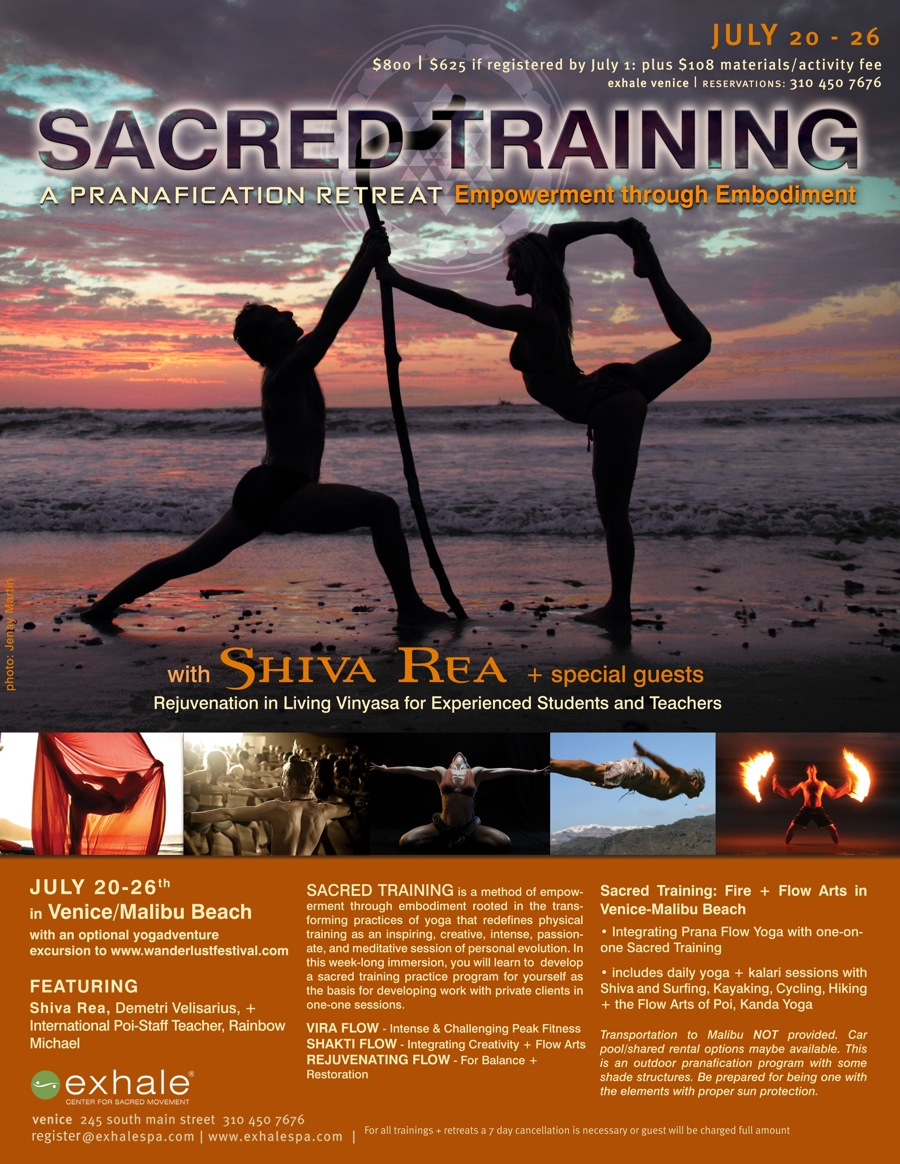 sacred training