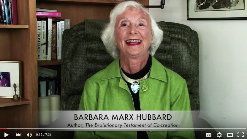 Barbara Marx Hubbard Video Message