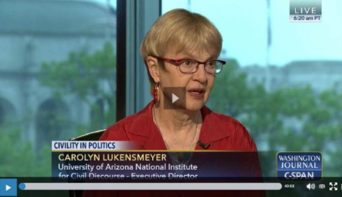 Carolyn Lukensmeyer on C-Span
