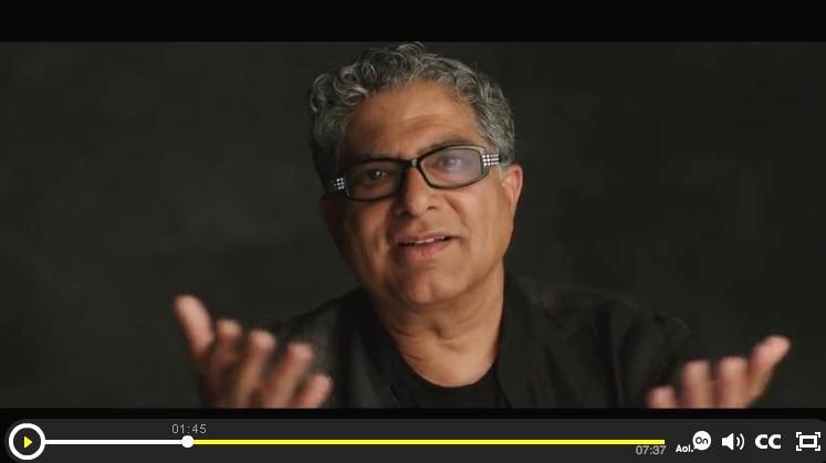 Deepak Chopra Video