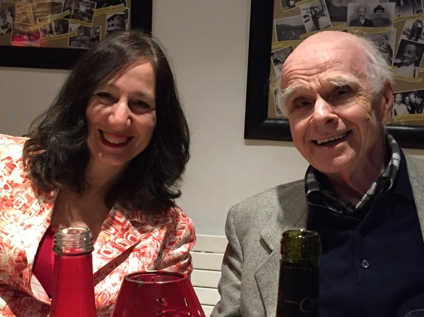 Diane and Ervin in Megeve