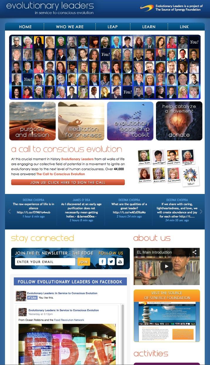 www.evolutionaryleaders.net