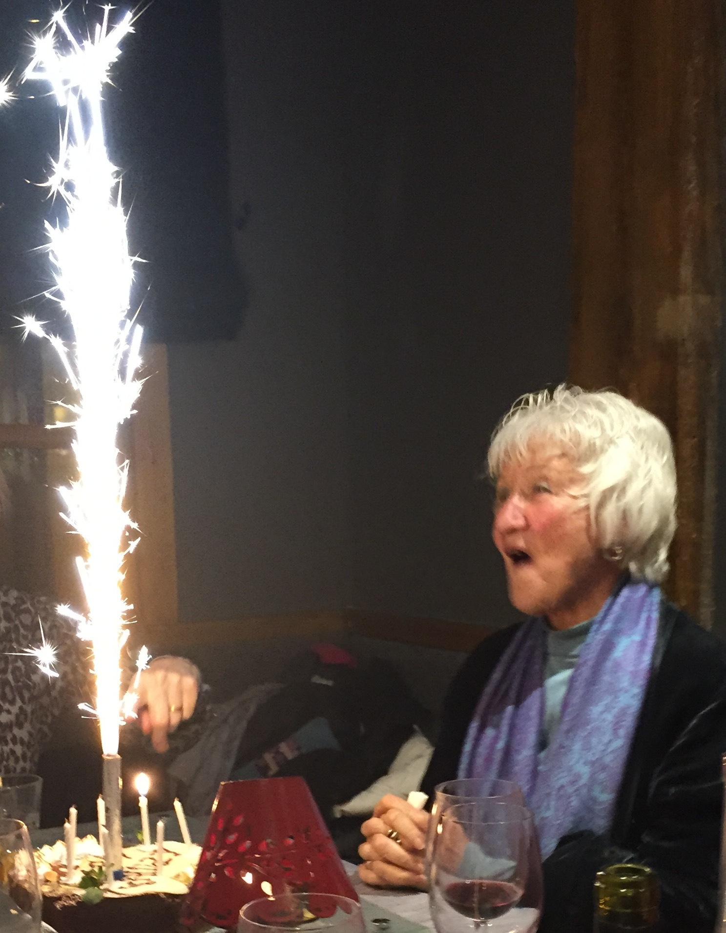Elisabet with Cake