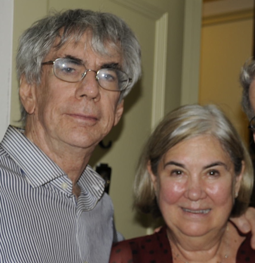 Emily Squires with Husband Len Belzer