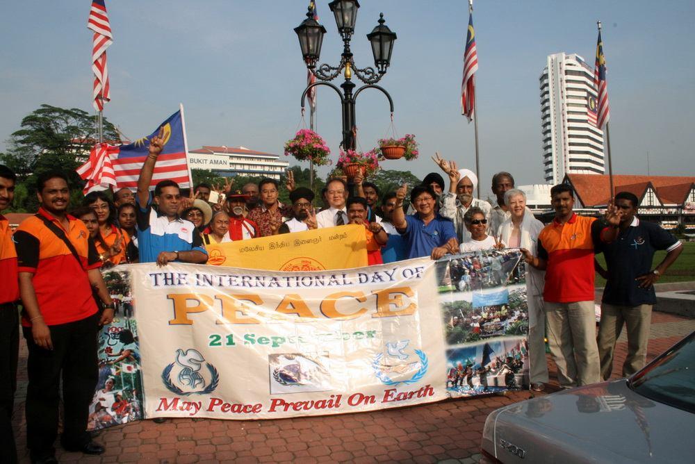 Peace Day in Malaysia