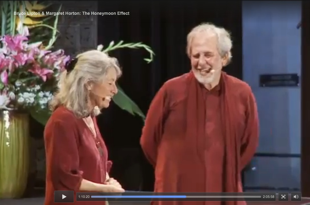 Margaret Horton and Bruce Lipton