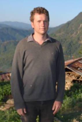 Mark Harris in Nepal