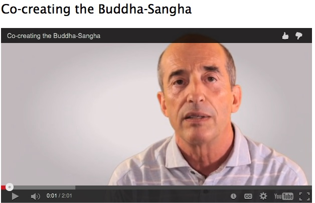 Co-creating the Buddha as Sangha