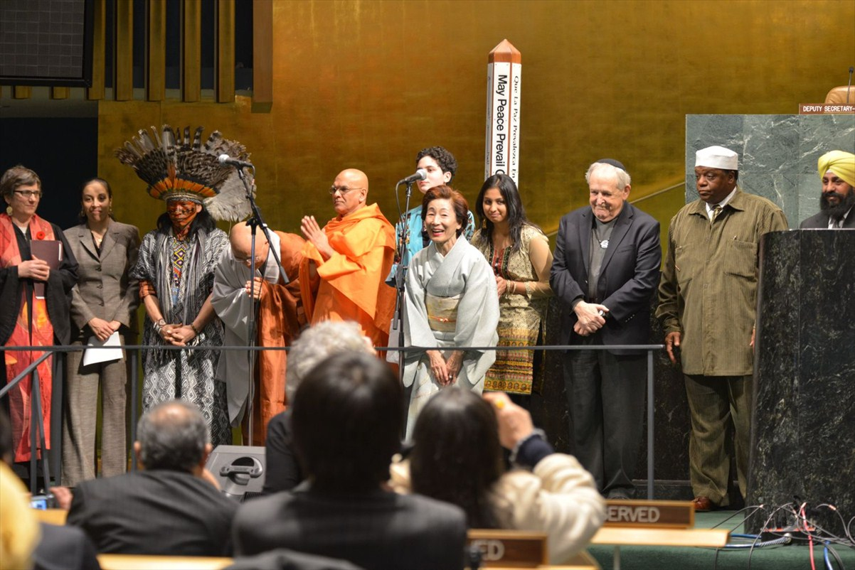 UN Event with Masami Saionji