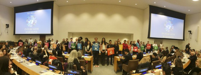 World Interfaith Harmony Week at UN
