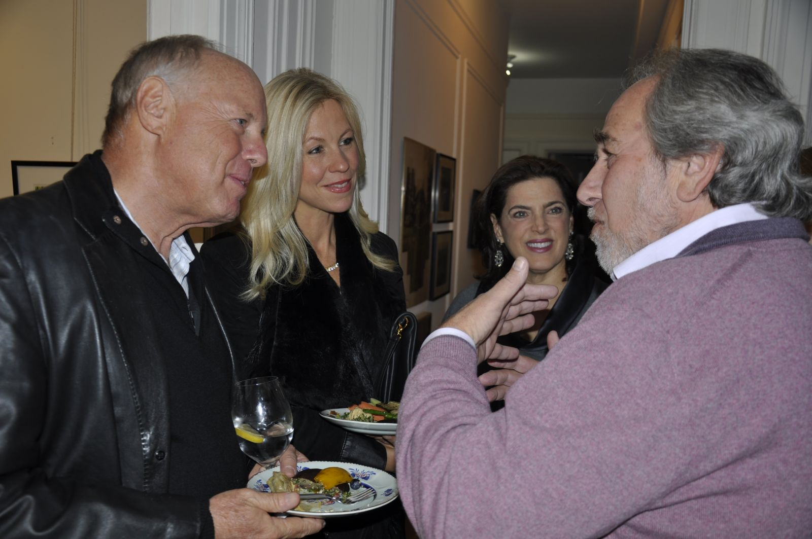 Bruce with Guests