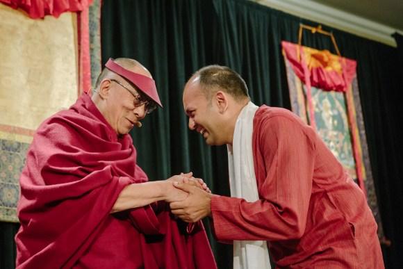 Dalai Lama Awards Nipun Mehta