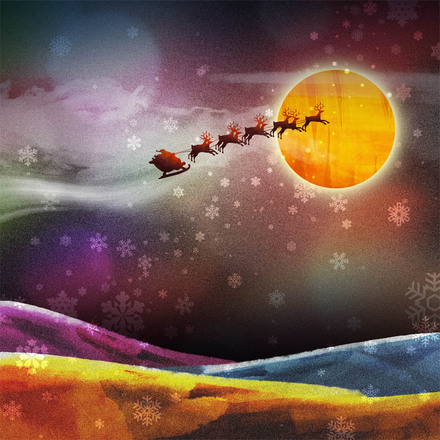 Santa's Sleigh from freeimages.com