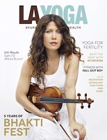 LA YOGA Magazine Cover