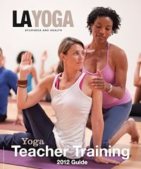 LA YOGA 2013 Yoga Teacher Training Guide Submission Form