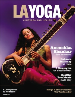 LA Yoga Sept 2011 Cover