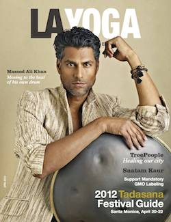 LA Yoga April 2012 Cover