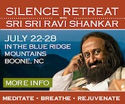 Silent Retreat with Sri Sri Ravi Shankar