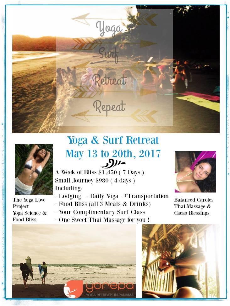 May Yoga & Surf Retreat