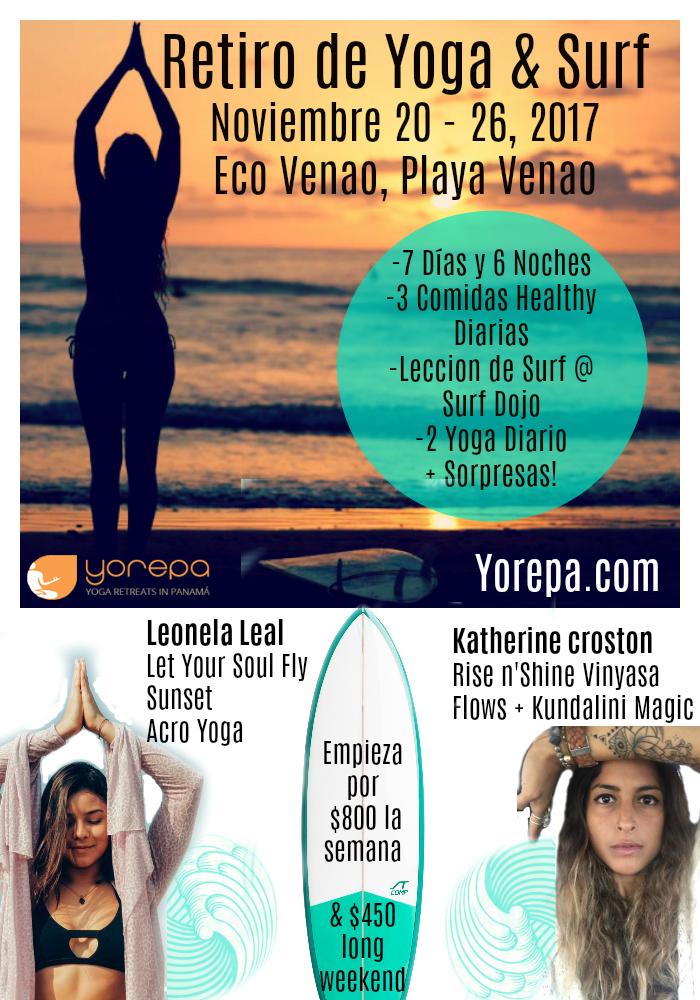 Yoga & Surf Retreat Thanksgiving